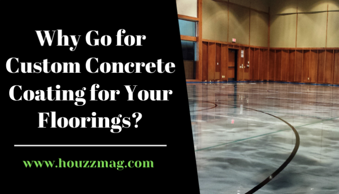 Custom Concrete Coating for Your Floorings